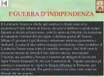 i guerra d indipendenza