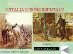 l italia risorgimentale