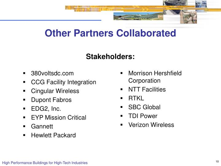 Other Partners Collaborated