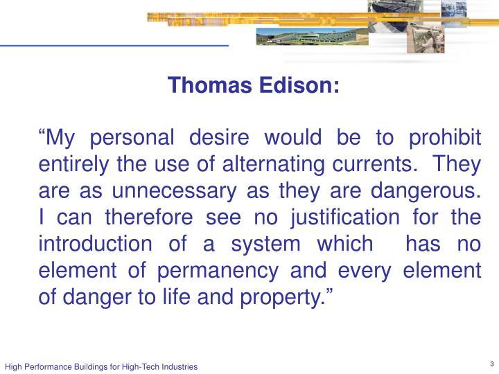 Thomas Edison: