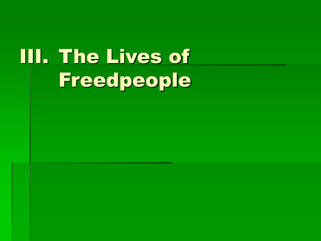 The Lives of