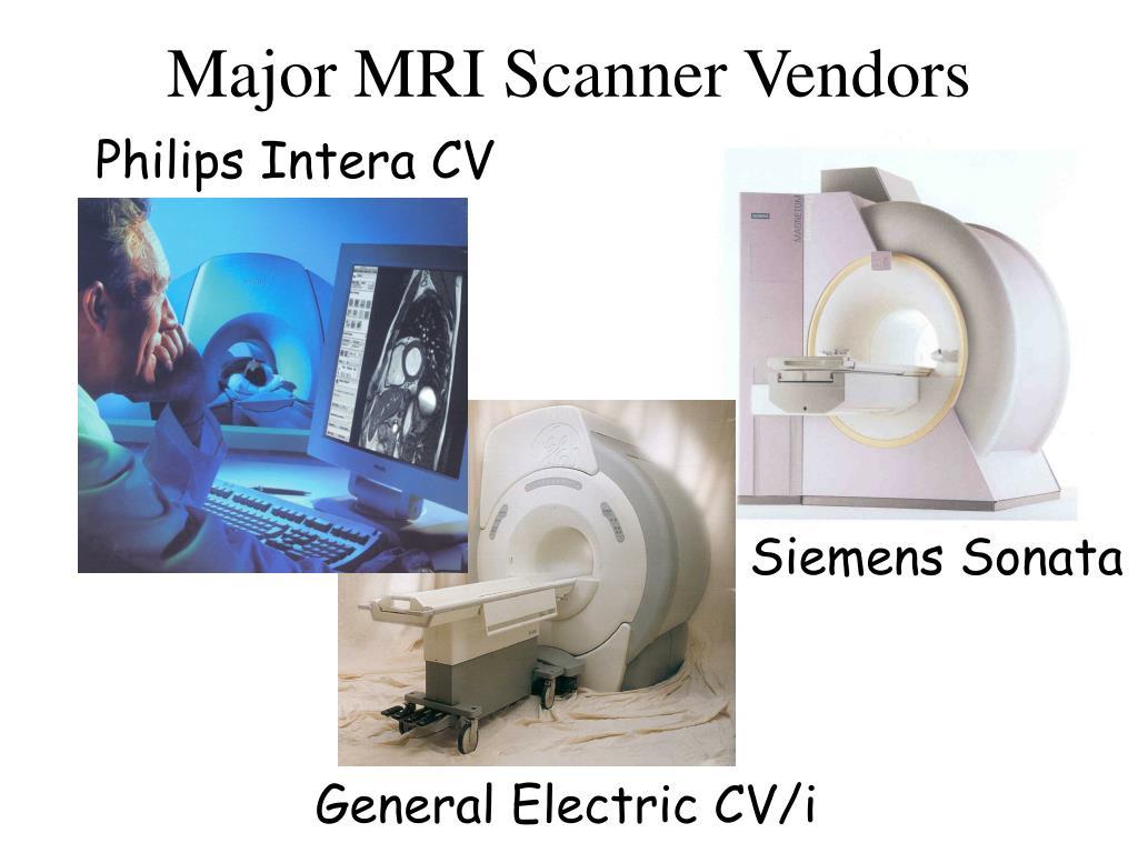 Major MRI Scanner Vendors