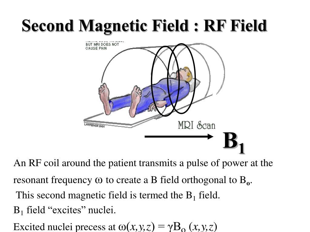 Second Magnetic Field : RF Field
