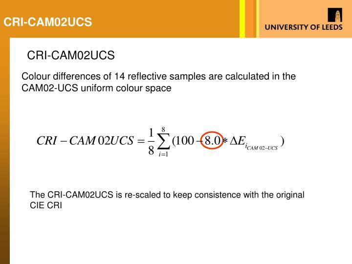 CRI-CAM02UCS
