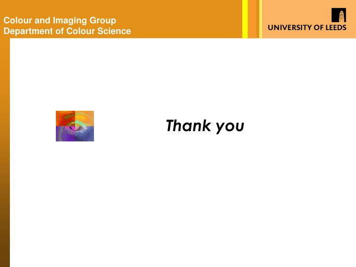 Colour and Imaging Group