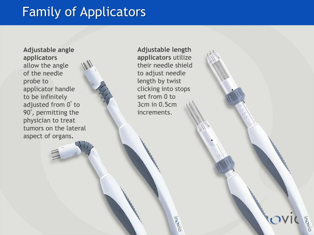 Family of Applicators