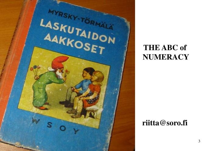 THE ABC of