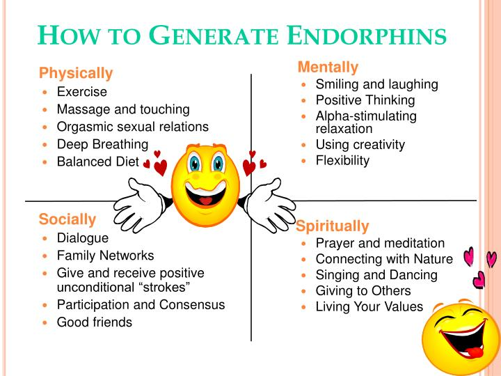 How to Generate Endorphins