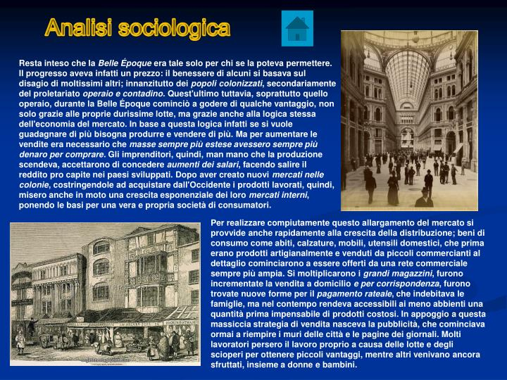 Analisi sociologica