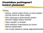clostridium perfringens i kontrol y ntemleri25