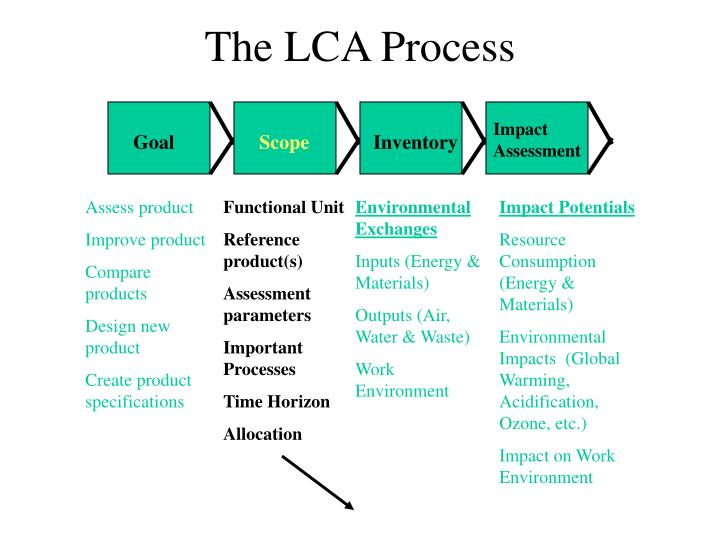 The LCA Process