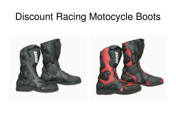 Discount racing motocycle boots2