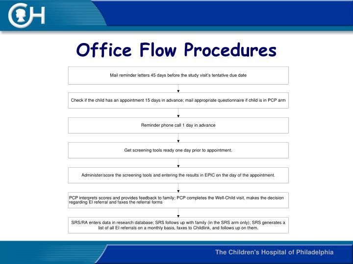 Office Flow Procedures
