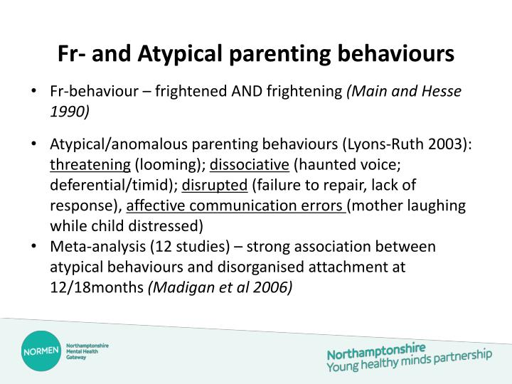 Fr- and Atypical parenting