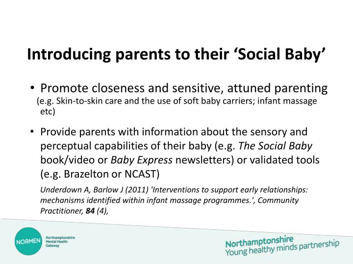 Introducing parents to their 'Social Baby'