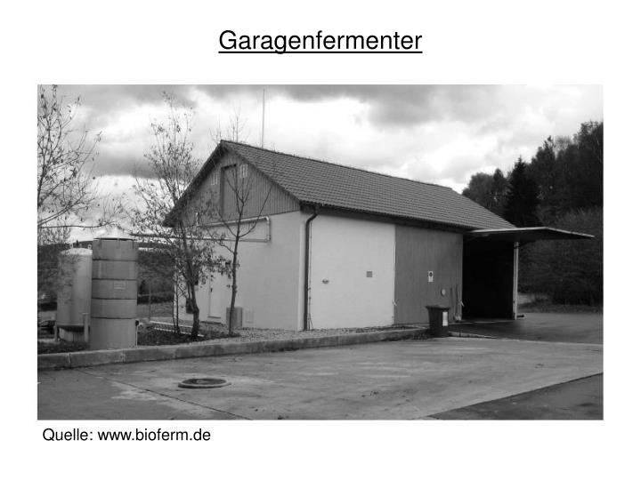 Garagenfermenter