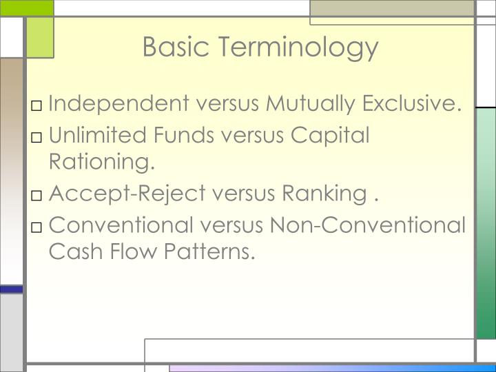 cash flows and cost terminology Reconciling cash flow and the bottom line combining the two different perspectives indicates that offering no discounts is the most profitable, but it does nothing to increase cash flow offering a 2 percent discount would significantly increase the company's cash flow, but at the expense of the company's bottom line profit.