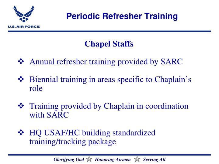 Periodic Refresher Training
