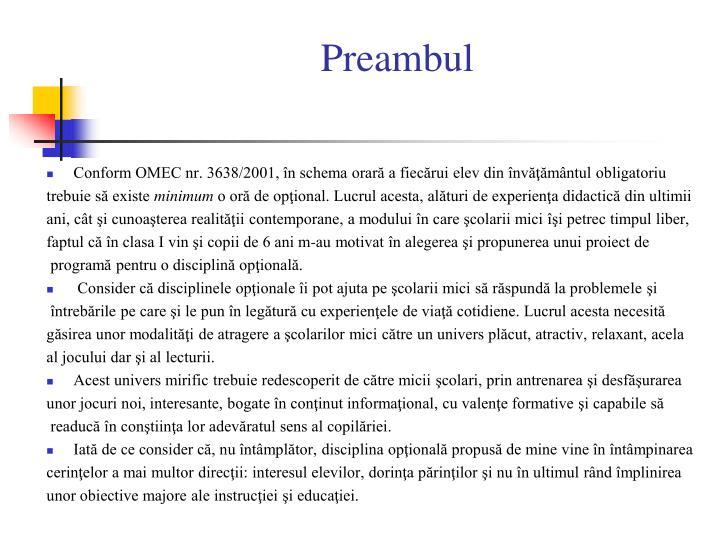 Preambul