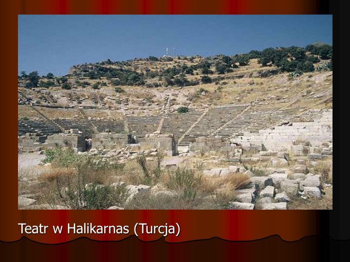 Teatr w Halikarnas (Turcja)
