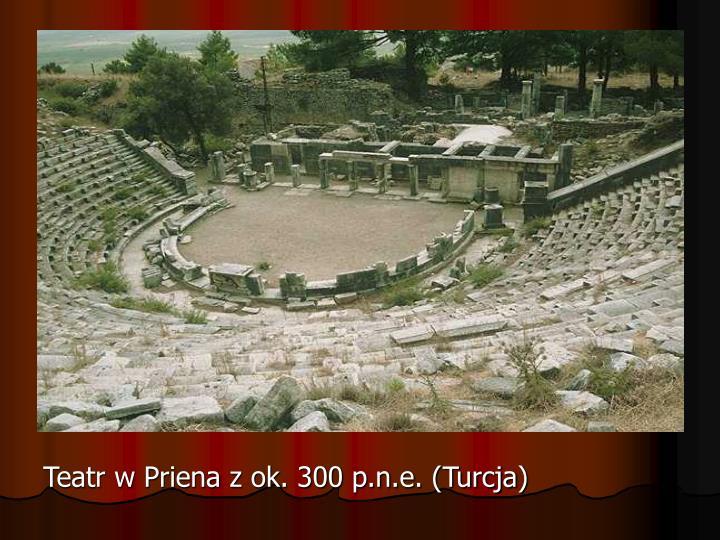 Teatr w Priena z ok. 300 p.n.e. (Turcja)