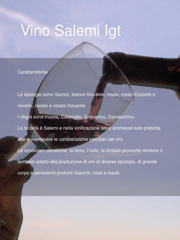 Vino Salemi Igt