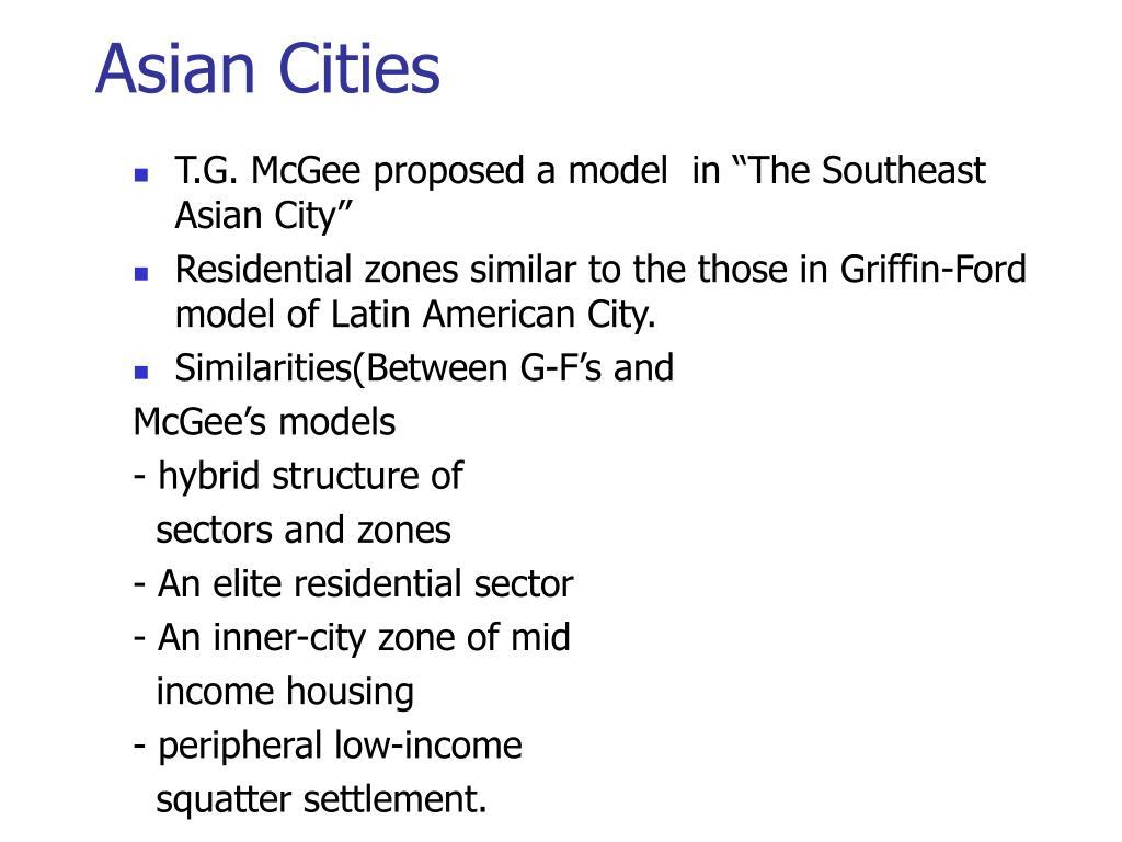 Asian Cities