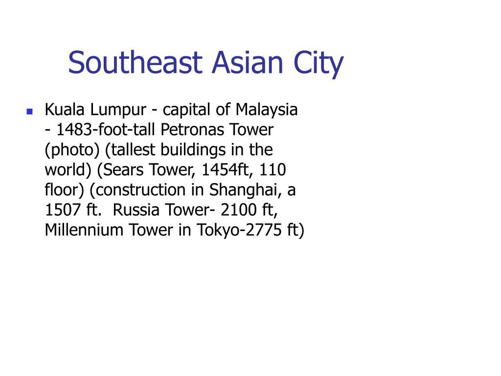 Southeast Asian City