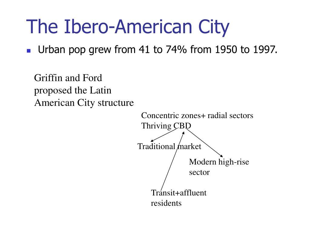 The Ibero-American City