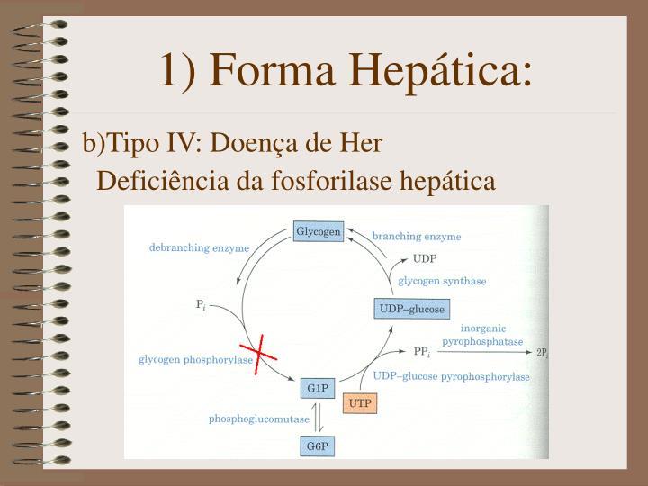 1) Forma Hepática: