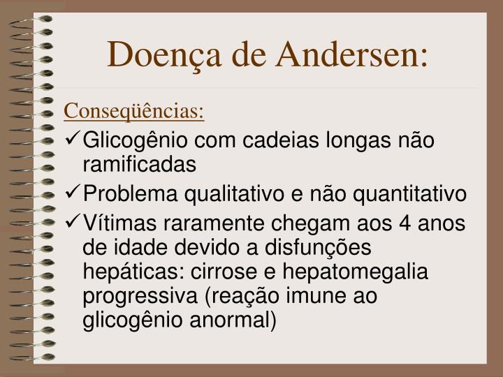 Doença de Andersen: