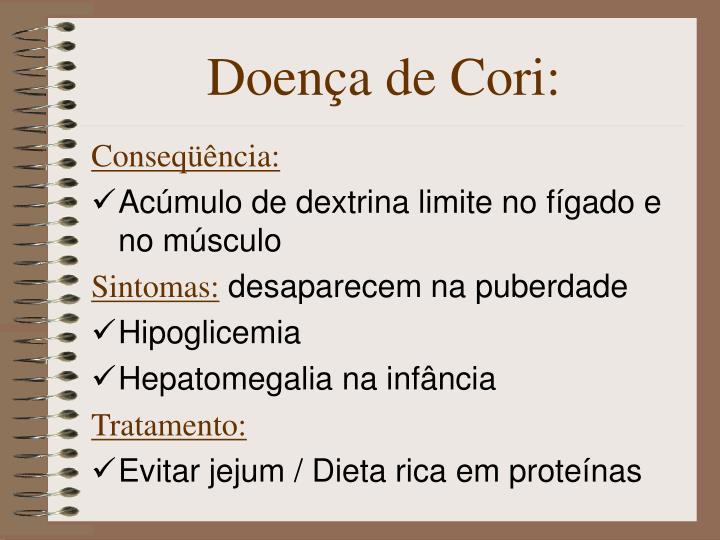 Doença de Cori: