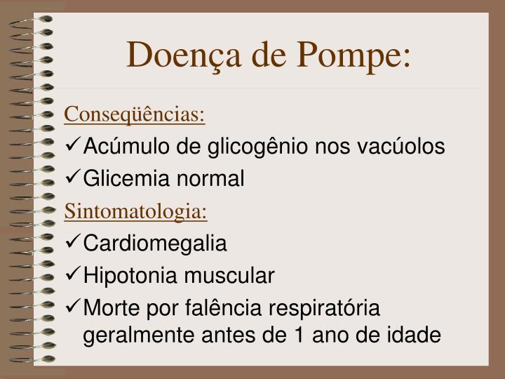 Doença de Pompe:
