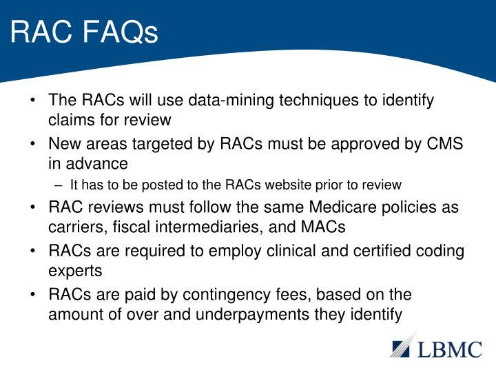 RAC FAQs