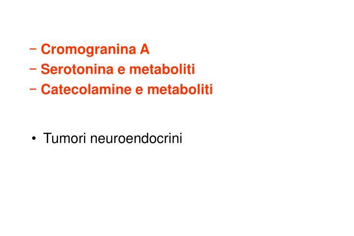 Cromogranina A