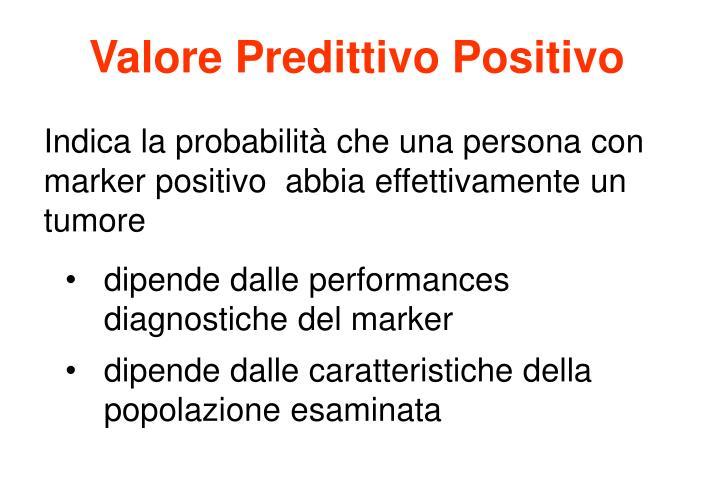 Valore Predittivo Positivo