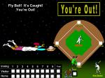 fly ball it s caught you re out