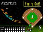 pop up center field it s caught two outs