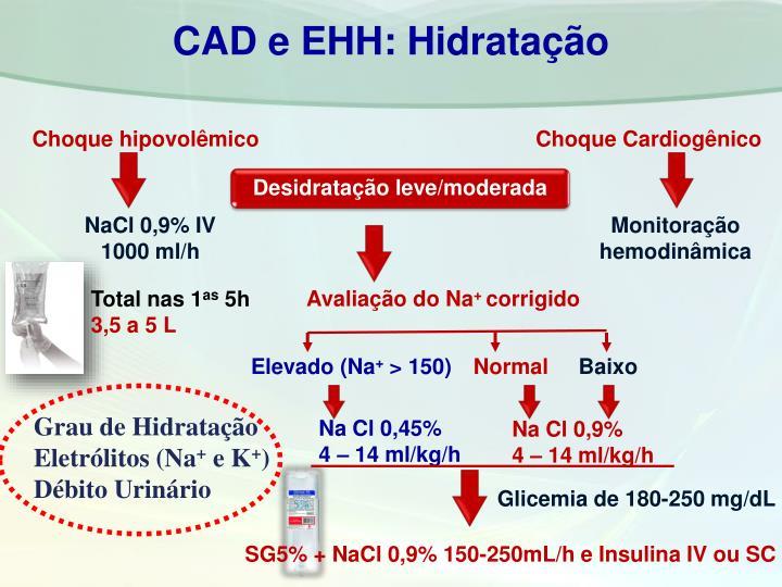 CAD e EHH: Hidratação