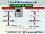 cad e ehh insulinoterapia