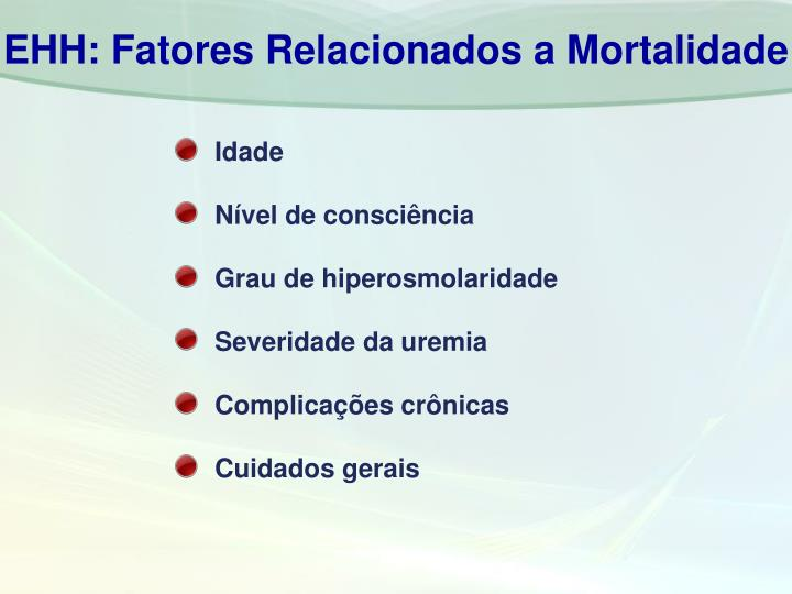 EHH: Fatores Relacionados a Mortalidade