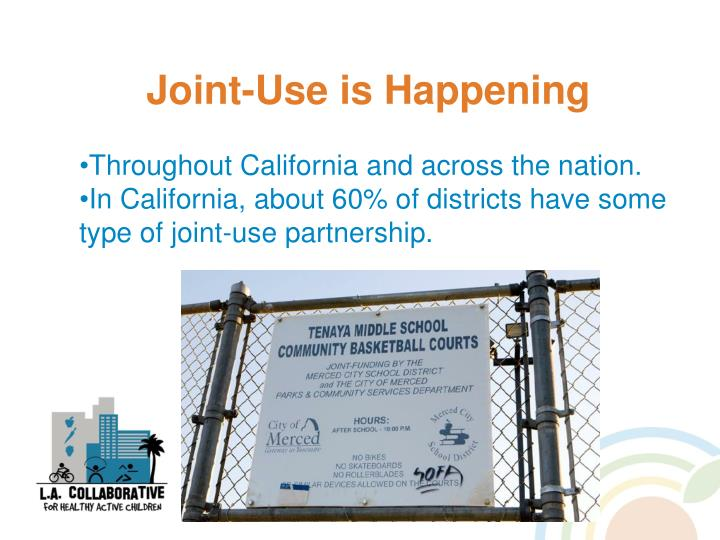 Joint-Use is Happening