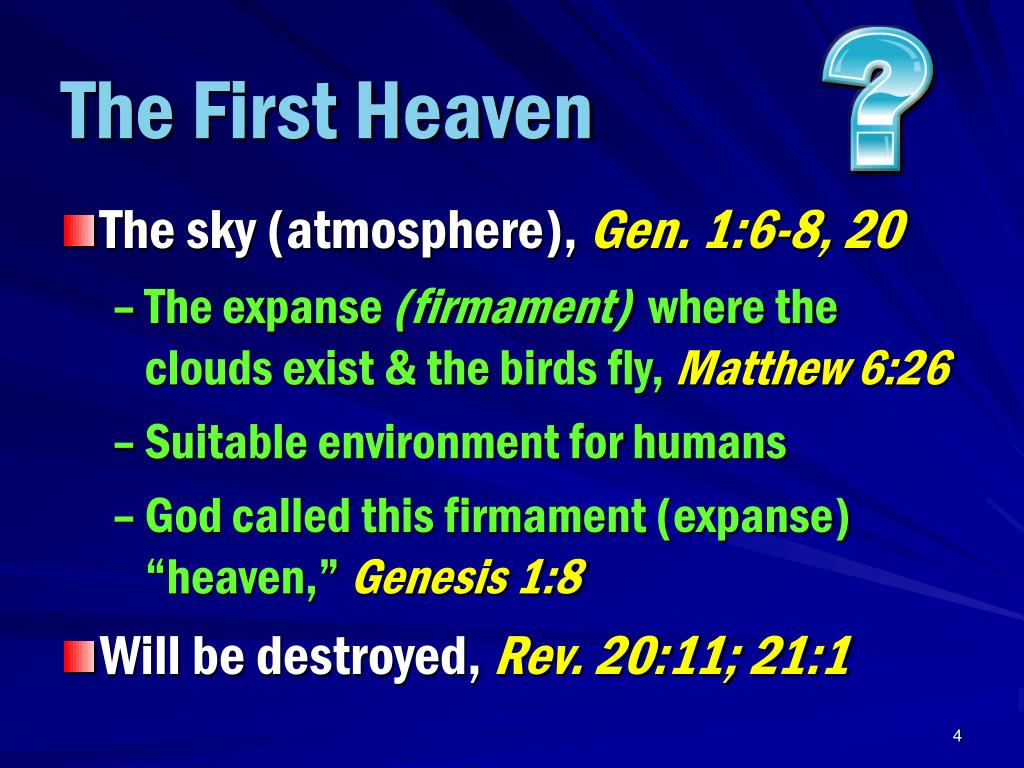 The First Heaven