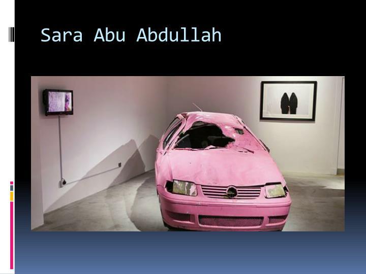 Sara Abu Abdullah