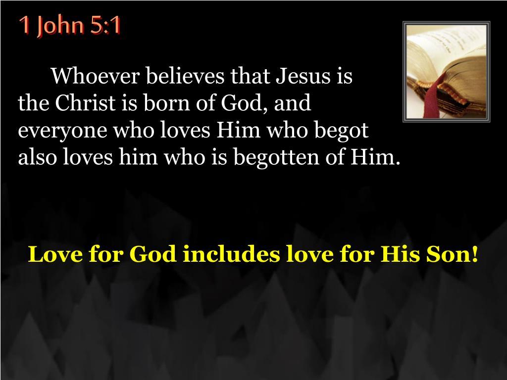1 John 5:1