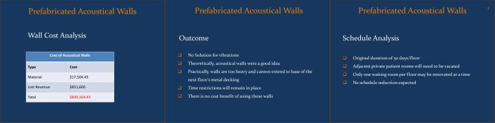 Prefabricated Acoustical Walls