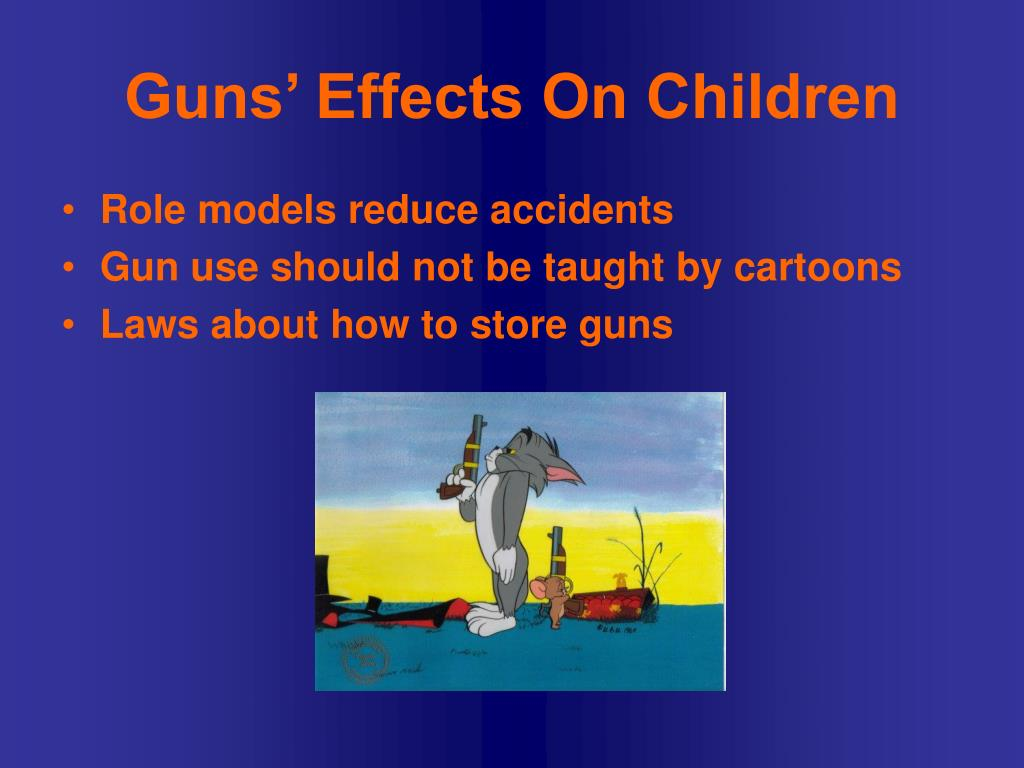 the effects of gun control Study examines gun control policies, effect on youth gun carrying date: september 21, 2015 source: the jama network journals summary: a more restrictive gun law environment was associated with a reduced likelihood of.