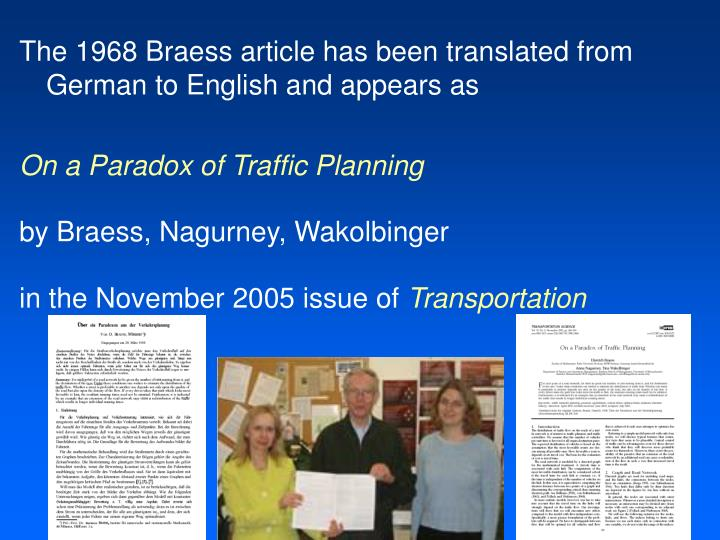 The 1968 Braess article has been translated from German to English and appears as