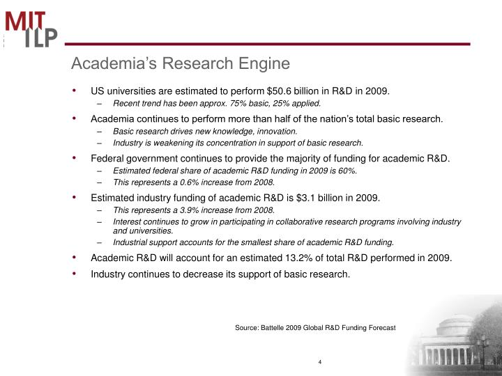 Academia's Research Engine