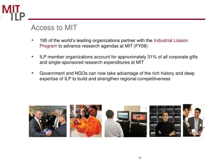 Access to MIT